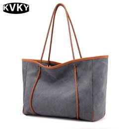 large capacity blast wave Korean special oversized shoulder bag Casual  women canvas bag handbag New fall women handbags e80fce7312469