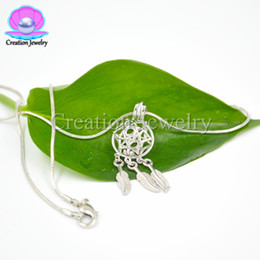 Wholesale pearl dreams - 5 pieces  lot new fashion lockets dream catcher cages multi styles pendants can put pearls silver plated high quality