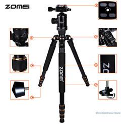 Wholesale Compact Camera Dslr - Zomei Z688 Professional Photographic Travel Compact Aluminum Heavy Duty Tripod Monopod&Ball Head for Digital DSLR Camera