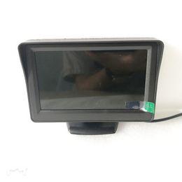 4.3 Polegada TFT LCD Do Carro Monitor com 480 * 280 Tela de Monitor de Câmera de Visão Traseira de Backup em Dois sentidos entrada de vídeo V1 V2 de Fornecedores de câmera v1