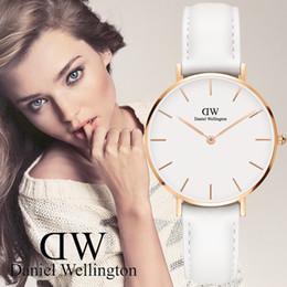 Wholesale ladies stylish watches - 2017 Minimalism Casual Women Watches Simple Stylish White 2017 Minimalism Casual Quartz Wristwatch for Lady Luxury Business Dress Watches