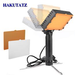 Argentina Kit de estudio fotográfico LED Disparo de mesa 5600 K Fotografía de escritorio Disparos Lámpara de mano portátil Panel LED Iluminación de luz de video Suministro