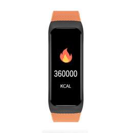 Smartphone herzfrequenz online-B02 Smart Watch Pulsmesser Bluetooth Sport Armband Aktivität Sleep Tracker wasserdicht Fitbit Uhr für iOS Android Smartphone