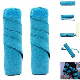 Wholesale Hairstyles Diy - 8Pcs Set Hair Rollers Sleep Cotton Curlers DIY Styling Tools Magic Hair Dressing Charming Hairstyle 2 Colors