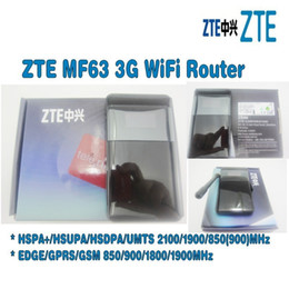 3g мобильный ключ онлайн-Разблокирован ZTE MF63 21mbps wifi маршрутизатор ключ mifi Mobile Hotspot 3g карман плюс с антенной