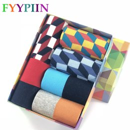 Wholesale wholesale direct clothing - 2018 Direct Selling Hombre Casual Free High -Quality Goods Delivery Man Socks ,Colorful Clothes Socks (6 Pairs  Lot )No Box