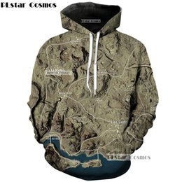 videospiel requisiten Rabatt PLstar Cosmo Videospiel PUBG Desert Karte und die Requisiten Hoodies 3D Print Pullover Sportswear Sweatshirts Hooded