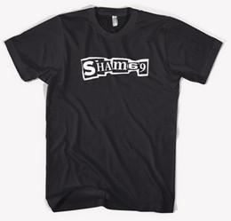Deutschland Neue Sham 69 Englische Punk Rock Band Legende Männer Schwarz T-Shirt Größe S bis 3XL Neue Ankunft Männliche Tees Casual Boy T-Shirt Tops Rabatte Versorgung