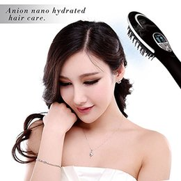 Wholesale Hot Air Comb - Hair Straightener Brush Electric Heating Ion-Flow Brush Dryer with 3D Air Diffuser Revolutionary Comb-Shaped Teeth Design Dual Voltage Hair