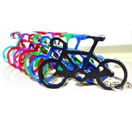 Anello chiave online-All'aperto Edc Multi Bike Bicicletta Key Buckle Bottle Portachiavi Edc Catena Chiave Bottiglia di Vino Opener Birra Strumento Muilti Colori 0 65sb gg