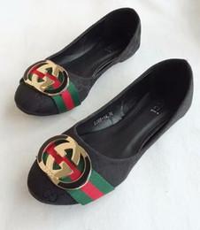 zapatos de boda de playa negro pisos Rebajas Las mujeres gbrand zapatos planos deslizan la moda de verano ancha plana resbaladiza con sandalias gruesas Slipper House Stud Flip Flop con Spike para mujer