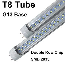 lampade a soffitto fluorescente Sconti 4ft 22 W 28 W 45 W 3ft 18 W 2ft 11 W SMD 2835 T8 Led Tubo Luci 3200lm Caldo / Naturale / Cool Bianco 1.2 m AC 85-265 V