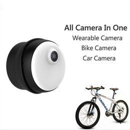 Wholesale Hd Dvr Button Camera - M1 Magnetic Mini Camera HD 720P No Button Design Body Camera H.264 Built-in 8GB Memory Magnetic Micro DV DVR
