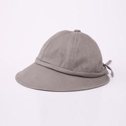 Deutschland Winter-Wollhut strickte Eimer-Hüte für Frauen faltbare Eimer-Kappe Panama-Fischen-faltbare Sun-Eimer-Hut-Baumwolle 10-18 supplier fish wool hat Versorgung