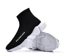 Unisexe chaussures occasionnelles 2017 Paris Europe et les États-Unis nouvelle Elastic chaussettes chaussures Aide élevée Lovers chaussures de sport 36-45 ? partir de fabricateur