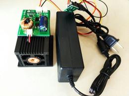 Wholesale Laser Blue Ttl - High Power Laser 15W 450nm Blue Laser Module Carving W  TTL & 12V Adapter
