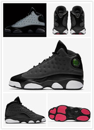 Wholesale gs for sale - 2018 For Sale Cheap New 13s 13 GS Black Grey-Pink 3M Reflect Basketball Shoes Men Women sport Sneakers Shoes Size 36-47