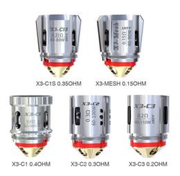 100% d'origine Ijoy Captain X3 C1 Bobines de rechange pour MESH Maillot C2 C3 C1S 0.4ohm pour Captain X3 Tank 3 / pack ? partir de fabricateur