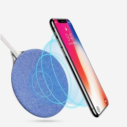 Wholesale charging pad for android - 2018 X10 Fast Wireless Charger QI Wireless Charging Pad for iPhone X 8 Plus Android Charger Pad for Samsung Galaxy S8 Plus Note 8 free ship