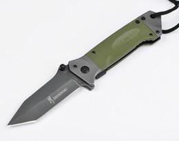 clipes de faca Desconto Camping Caminhadas faca de Caça G10 Lidar Browning DA35 Dobrável facas de Resgate Faca Com Clipe Pasta D756Q
