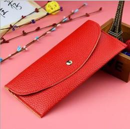 2019 bolsas de diseño Mujeres de la manera de largo diseño monedero bolsos de embrague del sostenedor del bolso de la tarjeta del sobre del bolso de las carteras bolso monedero de la tarde organizador rebajas bolsas de diseño