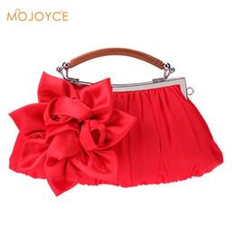 ea4e3855864d Женские атласные браслеты с цепочкой на ремне, сумка Bolsas в национальном  стиле, свадебный цветок Hobo Clip, женская сумка-клатч сатиновые сумки на  продажу