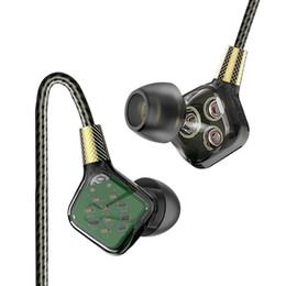 Auricolari mega basso online-Vendita caldo 1pc Navpeak Classic Six-unit auricolari dinamici Flagship Auricolari In-Ear HIFI Super Mega Bass Cuffie