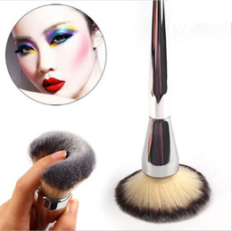 Polvere kabuki online-Spazzole per trucco in polvere di grandi dimensioni Kabuki Contour Face Blush Foundation Brush Ulta it all 211 Flawless Brush Make Up Beauty Tools