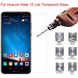 Wholesale Screen Protector For Huawei - For Huawei Mate 10 Lite Tempered Glass 9H 2.5D Premium Screen Protector Film For Huawei Mate 10 Lite MaiMang 6 5.9""