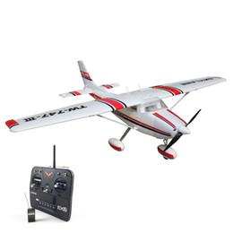 Wholesale Model Plane Motors - Volantex 1.6M Cessna182 RC RTF Glider Plane Model W  Motor Servo ESC Battery
