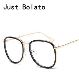 1f5d10d3adb New Fashion Vintage Women Optical Round Glasses Frames Men Eyewear old  Clear Lens For Female Eyeglasses