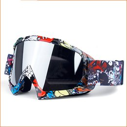 Óculos off road on-line-Óculos de motocross MX proteção UV Snow Blind Off-road capacete Óculos de Esqui Gafas Bicicleta Ao Ar Livre Motocross