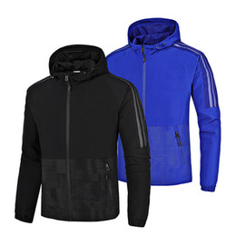 Wholesale Plus Size High Waisted - Brand Designer Luxury Mens Jackets Fashion Cool Outerwear Coats Black Blue Casual High Quality Plus Size Sport Travel Party Jacket