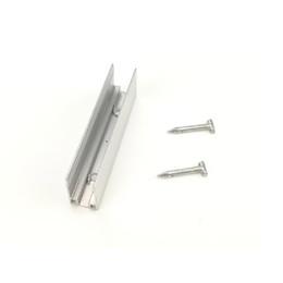 Instalação levou 12v on-line-Clipes de montagem com parafusos para LED Neon Strip DC 12V AC 220V Alumínio Instalação Clip Card Slot