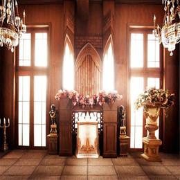 2019 fotografia di fiori di cristallo Sfondi di camera luminosa porte interne per studio fotografico Fondali di fiori vintage lampadari di cristallo stampato fiori retrò fotografia di fiori di cristallo economici