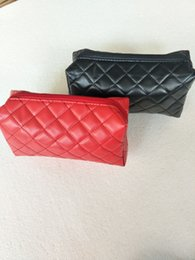 Wholesale travel bags purse women - Women cosmetic bags organizer famous brand makeup bag designer travel pouchmake up bag ladies clutch purse organizador toiletry bag