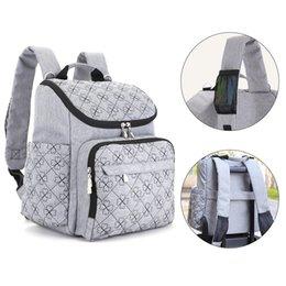 Wholesale maternal bags - Multifunctional Diaper Bag Fashion Mummy Maternity Nappy Bag Large Capacity Maternal Backpacks Carriage Bags Travel Nursing Bags