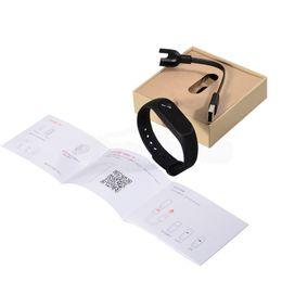 Wholesale Xiaomi Waterproof - Original Xiaomi Mi Band 2 Smart Fitness Bracelet watch Wristband Miband OLED Touchpad Sleep Monitor Heart Rate Mi Band2 Free Screen Film DHL