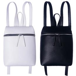 sac à dos coréen simple Promotion wenjie brother 2018 Nouvelle mode en cuir PU Litchi Sacs coréen Pure Color Simple Trend Backpack