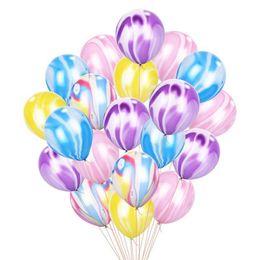 Cola de látex online-Nuevo patrón de cumpleaños de los niños cola de pavo real látex adorno globos 12 pulgadas decoración del partido juguete de la novedad