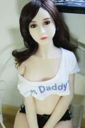 Wholesale Mini Sex Doll Anime - 140cm factory dropship silicone sex dolls robot japanese anime full oral love doll realistic adult for men toys big breast sexy mini vagina