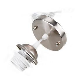 Wholesale Light Bulb Holder Fitting - BIFI-Chrome Ceiling Pendant Lamp Holder Fitting Accessories Kit for E27 Bulb Light