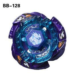 2019 acciaio blu giapponese 50% H segno costellazione lega combattimento giapponese Gyro warrior spirale top giocattolo acciaio battaglia anima BB128 drago blu giocattoli di rotazione acciaio blu giapponese economici