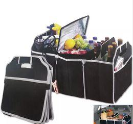 Boîtes de rangement de voiture pliables Poubelles Coffre Organisateur Jouets Alimentaire Conteneur De Rangement Sacs Sacs Auto Intérieur Accessoires Cas Peut FBA Ship ? partir de fabricateur