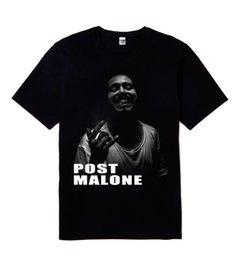 New Post Malone Stoney Rap Film Hip Hop Hommes T Shirt Noir Tailles S à 2XL Hommes 2018 Marque de mode T Shirt O-Neck 100% coton T-Shirt Tops ? partir de fabricateur