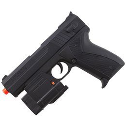 Lanterna de pistola on-line-AIRSOFT P226 PISTOLA DE MOLA LED FLASHLIGHT LASER HIGH GUN VISTA w / 6mm BBs BB
