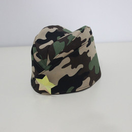 russian star Coupons - russian style soldier army hat men women beret cap flight attendant hat with star pattern,camouflage beanie