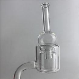 Wholesale Glass Water Walls - Quartz Thermal Banger Pillar Nail Carb Cap with XL XXL Walls 10mm 14mm Male Female Glass Ball Carb Caps for Water Pipes
