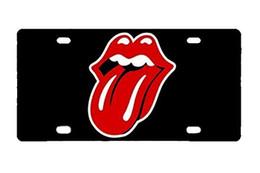 Dauerhafter Rolling Stone-Metall-Kfz-Kennzeichen von Fabrikanten