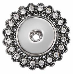 2019 clip vintage in sciarpa Perni di bottoni automatici a bottone con bottone a bottone con strass da 18 mm per ragazza sconti clip vintage in sciarpa